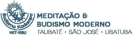Meditação e Budismo Moderno em Taubaté Logo